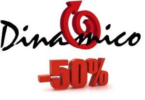 Sconto 50% su nuove licenze Dinamico